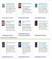 Mobile phone deals UK
